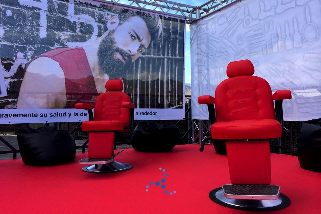 Mobiliario para eventos y congresos