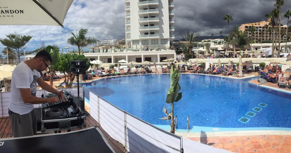 Dj en Tenerife