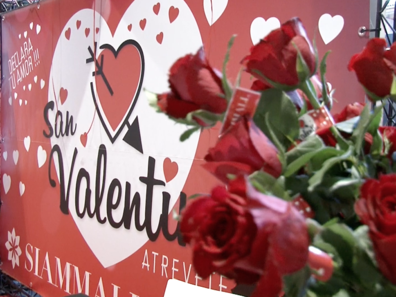 San Valentín en Siam Mall