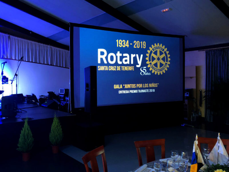 Premio Tajinaste 2019, Rotary