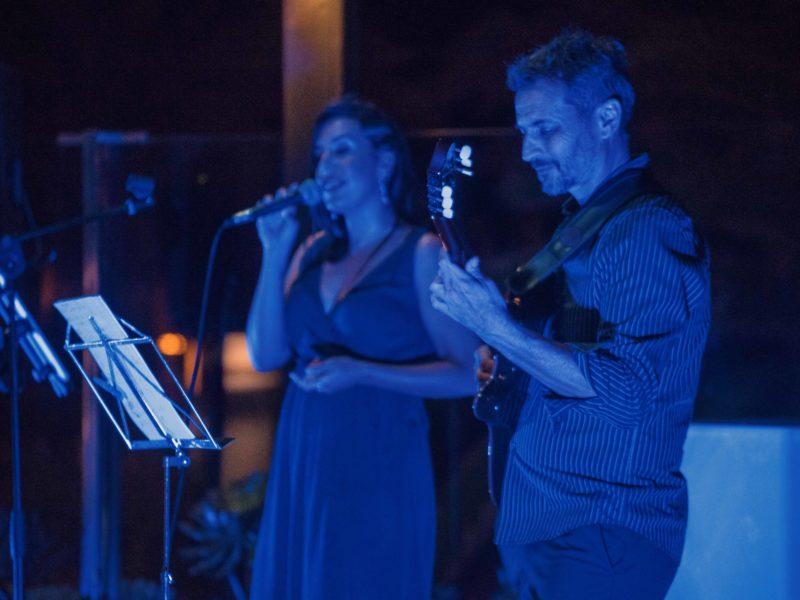 Priscila Estevez y Matías Santos