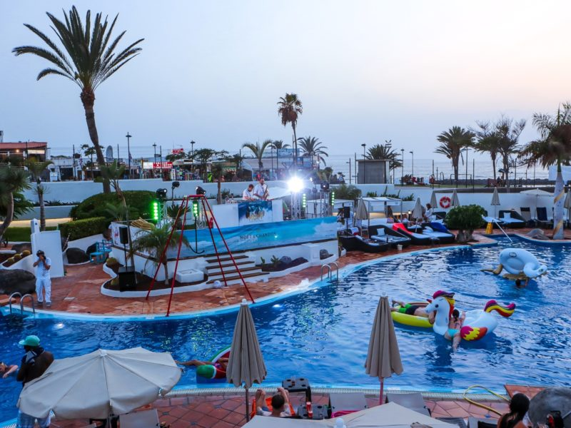 Moet Pool Party 2019, H10 Gran Tinerfe